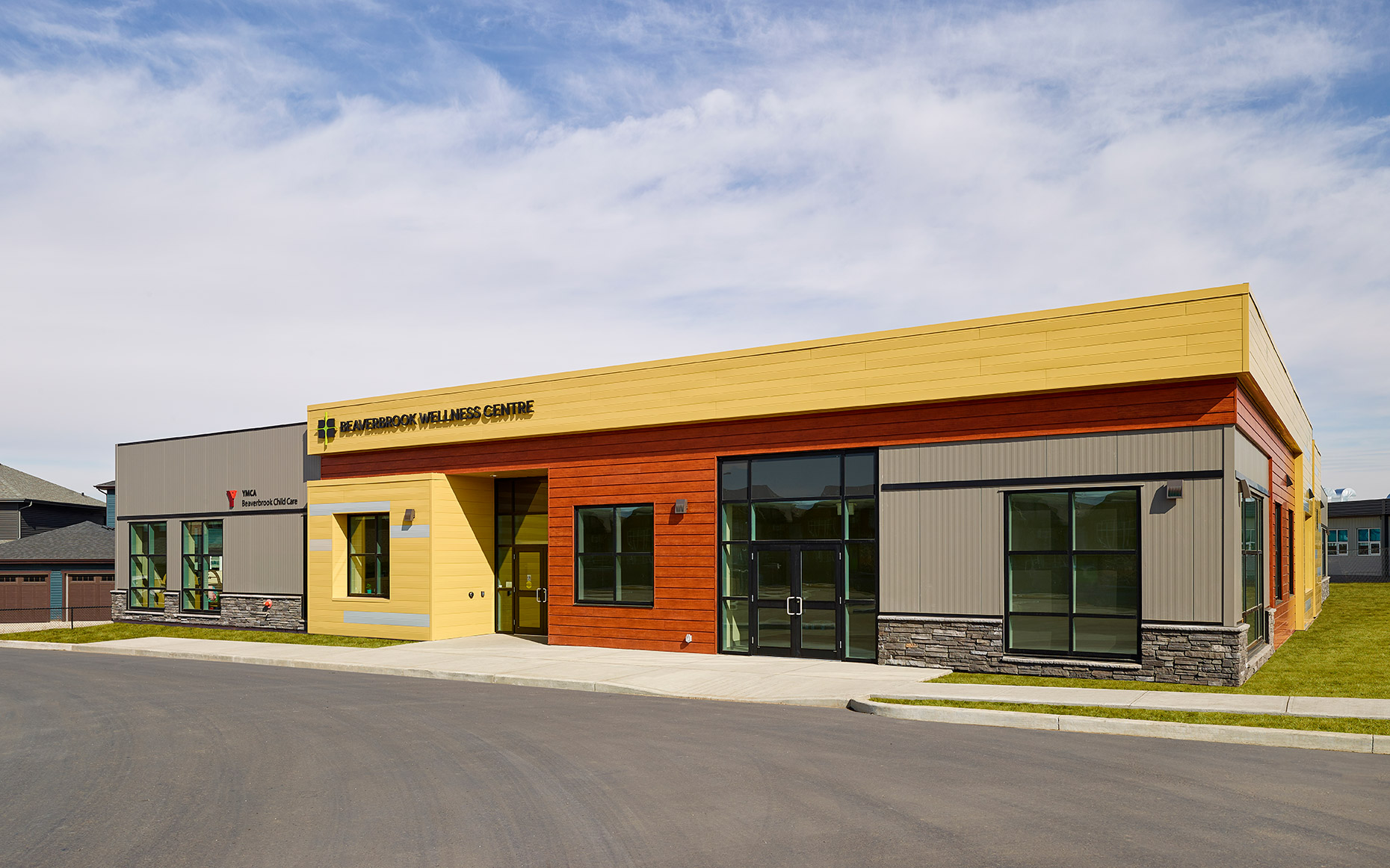 Beaverbrook Wellness Centre YMCA Child Care in Spruce Grove, Alberta - Christophe Benard Photography, Edmonton Architectural Photographer, Edmonton Architectural Photography