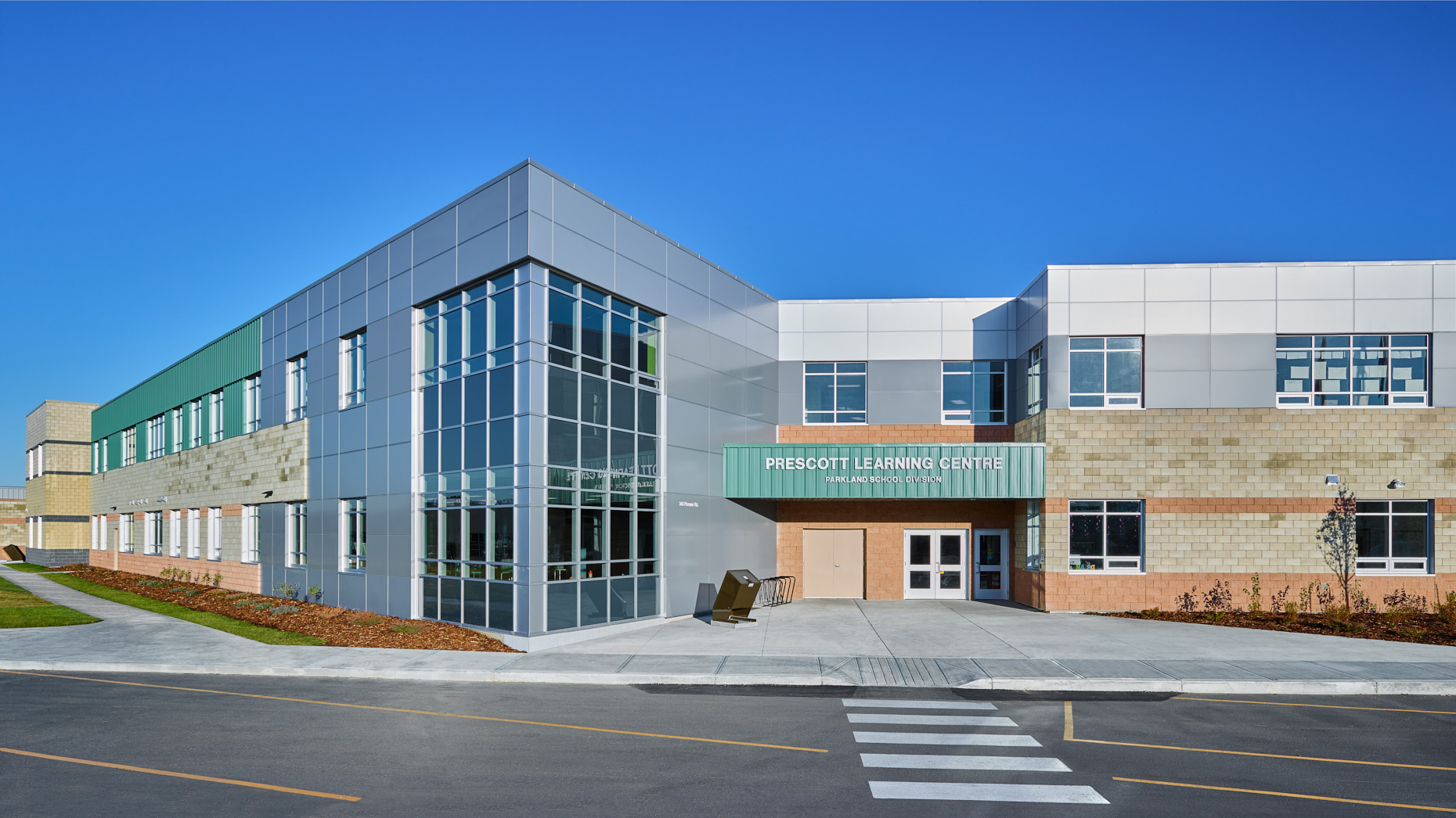 Beaverbrook Prescott Learning Centre in Spruce Grove, Alberta - Christophe Benard Photography, Edmonton Architectural Photographer, Edmonton Architectural Photography