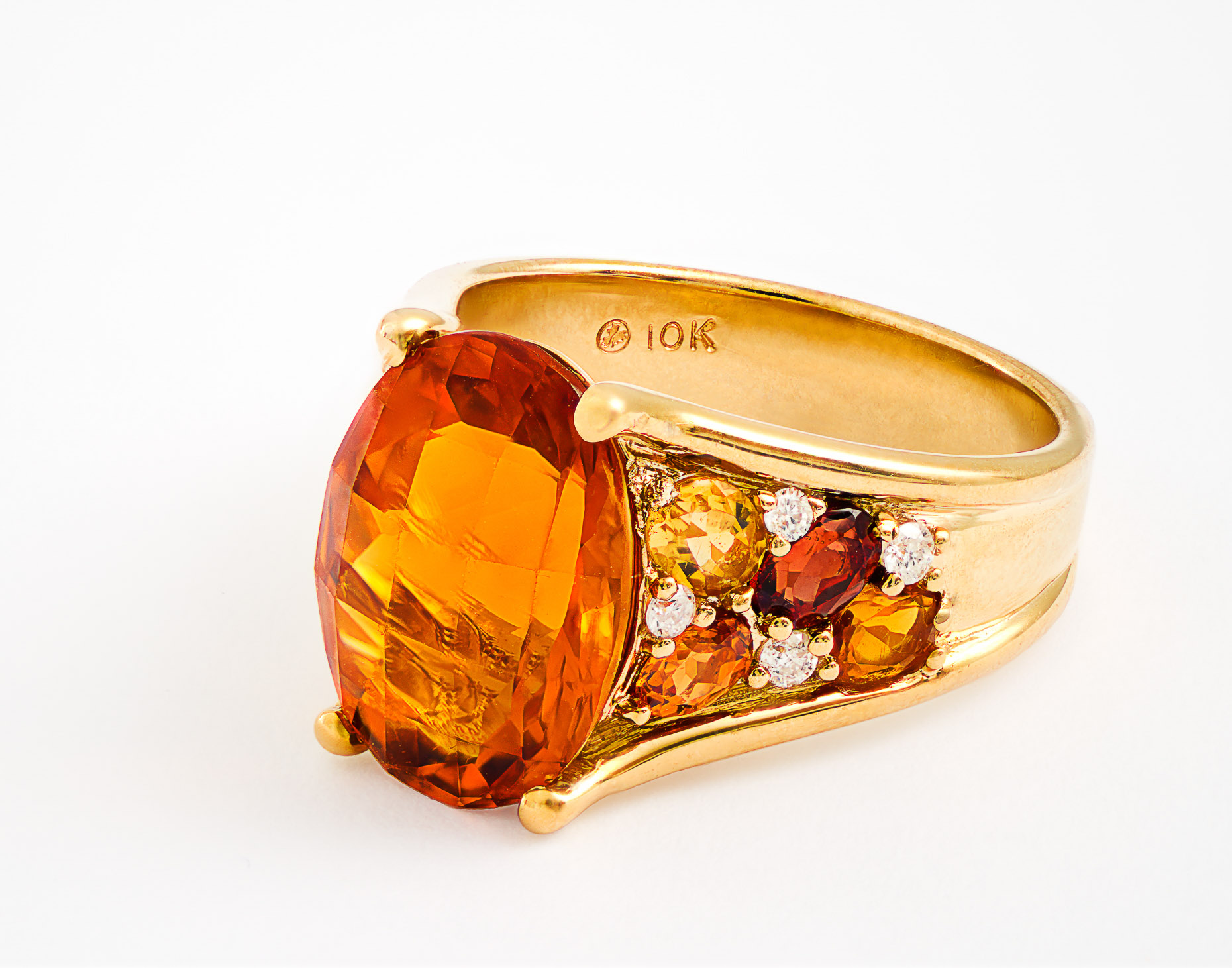 Ben Moss Citrine Ring - Christophe Benard Photography - Edmonton Commercial Photographer, Edmonton Commercial Photography, Edmonton Product Photographer, Edmonton Product Photography, Still Life Photographer in Canada, Product Photographer in Canada