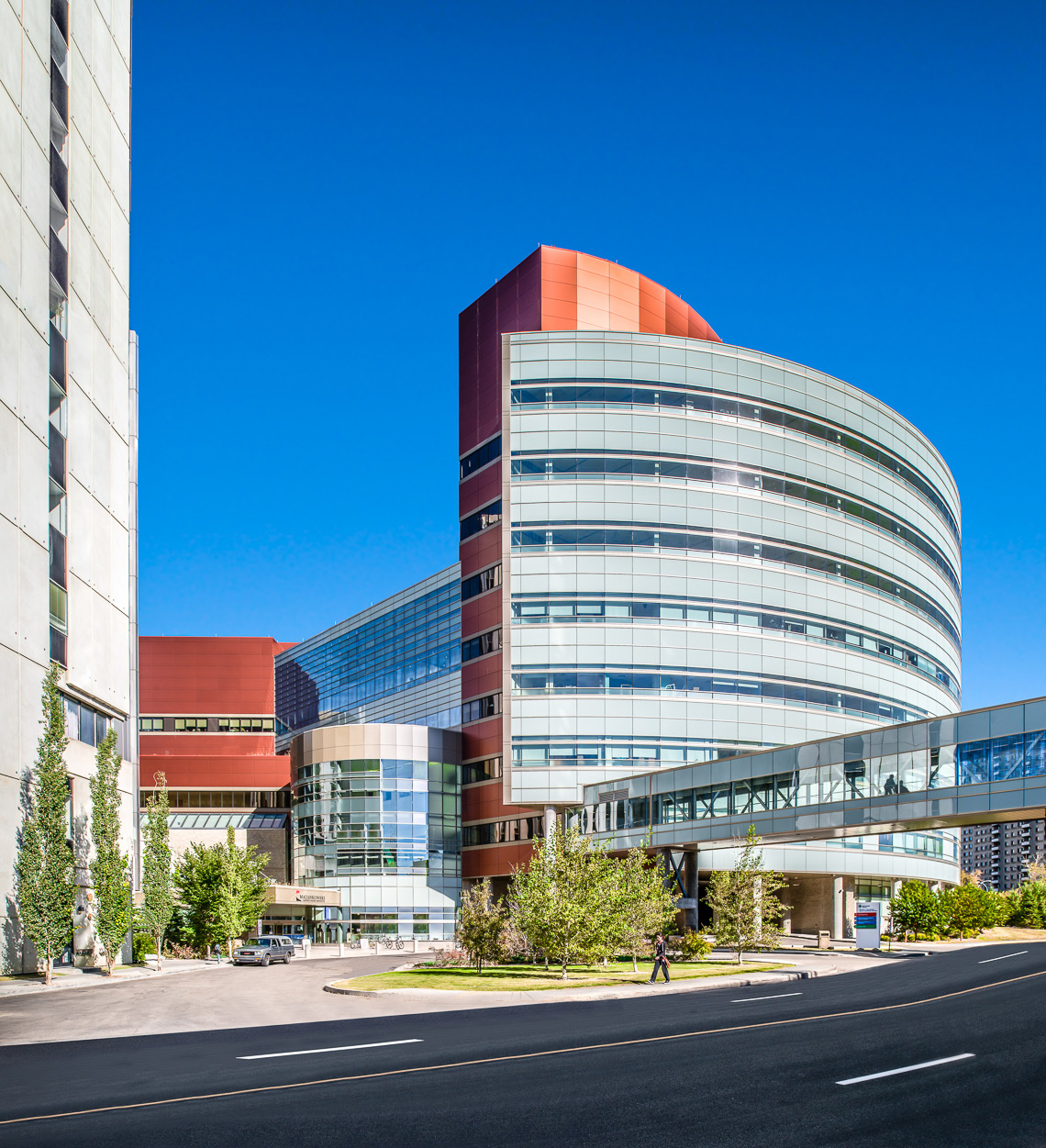 Mazankowski Alberta Heart Institute in Edmonton, Alberta - Christophe Benard Photography, Edmonton Architectural Photographer, Edmonton Architectural Photography