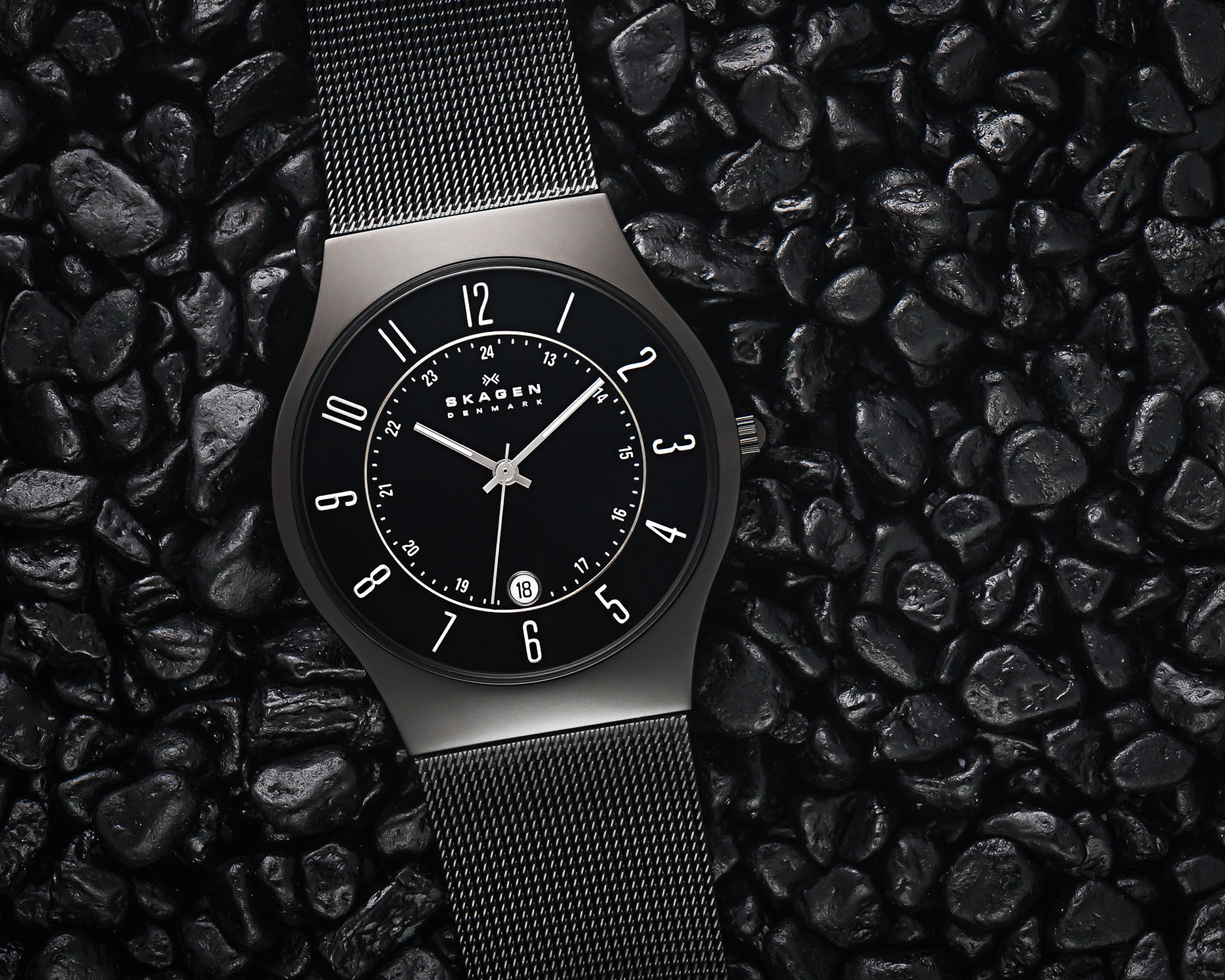 Skagen Denmark Titanium - Christophe Benard Photography - Edmonton Commercial Photographer, Edmonton Commercial Photography, Edmonton Product Photographer, Edmonton Product Photography, Still Life Photographer in Canada, Product Photographer in Canada, Watch Photographer, Watch Photography