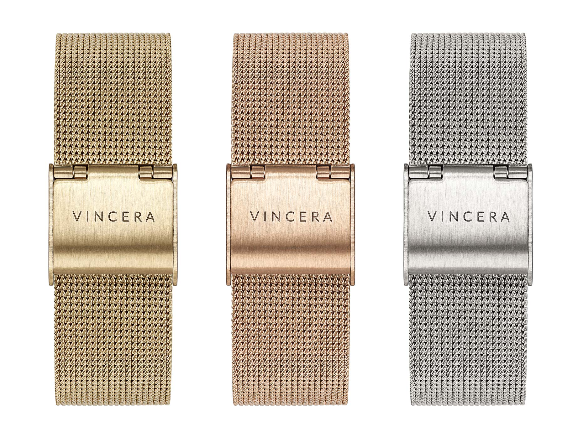 Vincera Collective Watch Mesh Bands - Christophe Benard Photography - Edmonton Commercial Photographer, Edmonton Commercial Photography, Edmonton Product Photographer, Edmonton Product Photography, Still Life Photographer in Canada, Product Photographer in Canada, Watch Photographer, Watch Photography